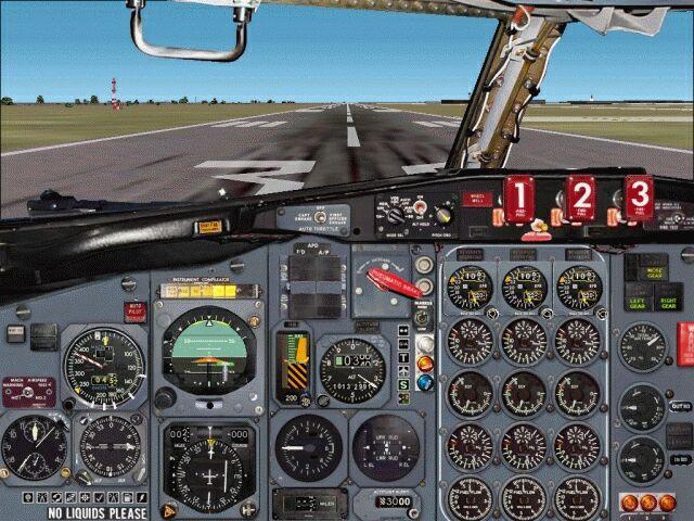 FS2002 Panel--Boeing 727-200 - Flight Simulator Addon / Mod