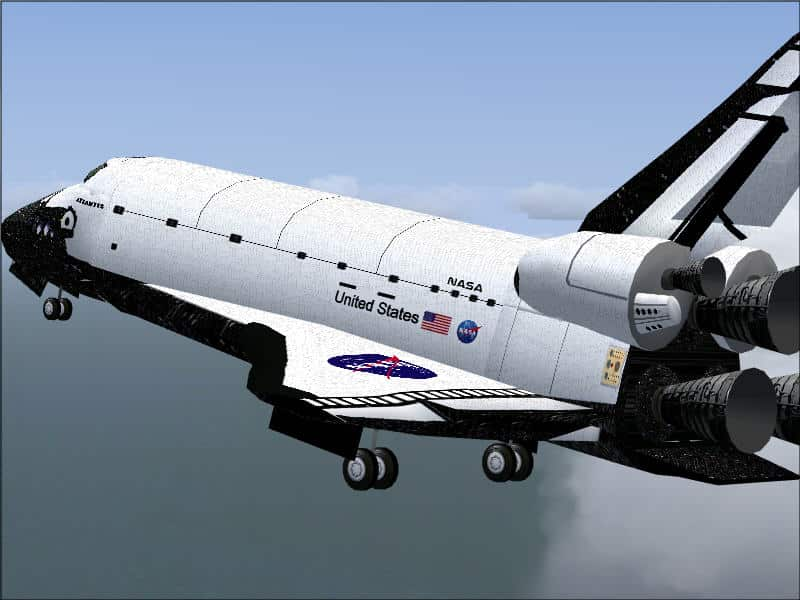 fsx space shuttle atlantis flight - photo #30