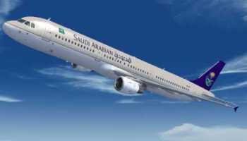 FSX Airbus A321 Saudi Arabian Airlines Textures - Flight