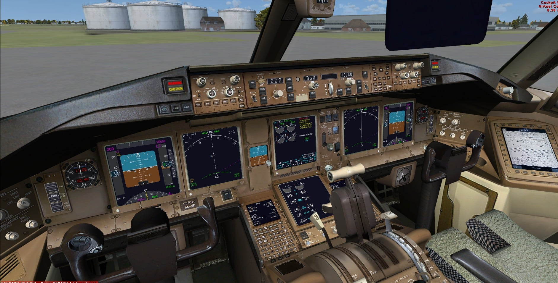 P3d VC window textures patch for the FSX Project Opensky