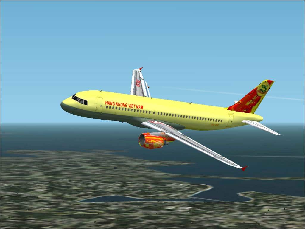 FS2002 Project Airbus 320-211 Air Viet Nam Textures only