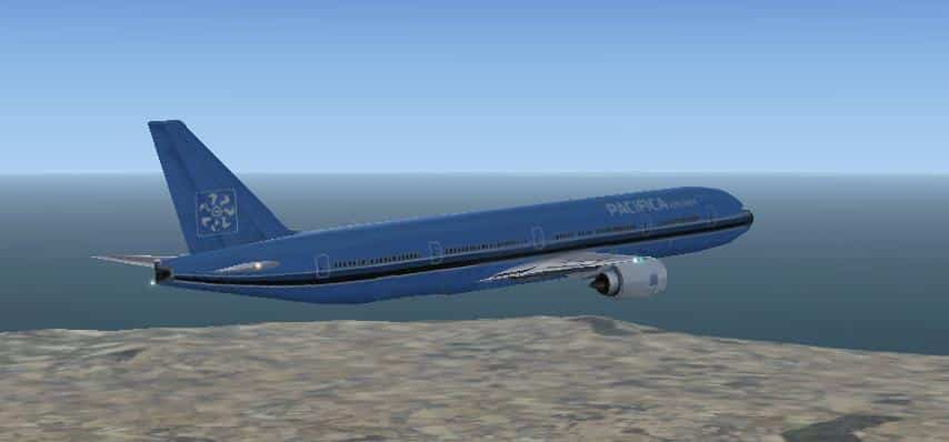 FSX Boeing 777-300 Package - Flight Simulator Addon / Mod