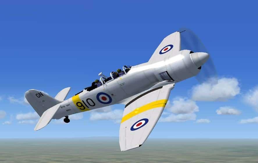 FSX Hawker Sea Fury T Mk20 Royal Navy Package - Flight