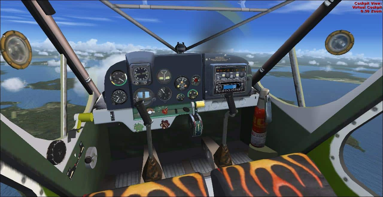 FSX PZL 104 Wilga-Nor-Cal Tundra Hunter Package - Flight