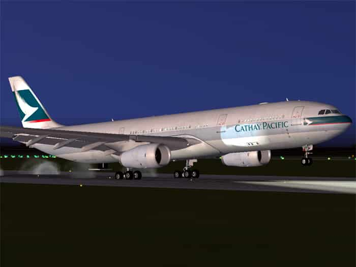 FSX Project Opensky A330-300 Airbus House scheme (With and without
