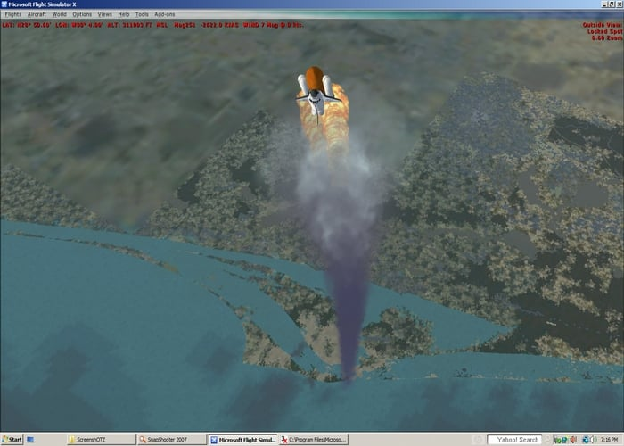 how to start space shuttle in x plane - photo #31