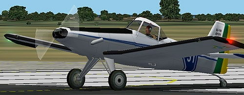FS2002 Neiva/Embraer EMB-201 Ipanema FAB U-19 - Flight Simulator
