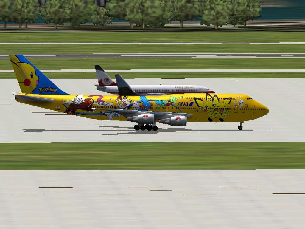 FS2004 ANA AI Traffic - Flight Simulator Addon / Mod