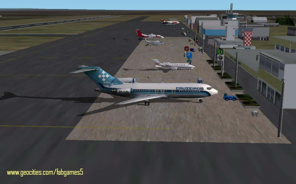 FS2004 Marechal Rondon International Airport (CGB/SBCY