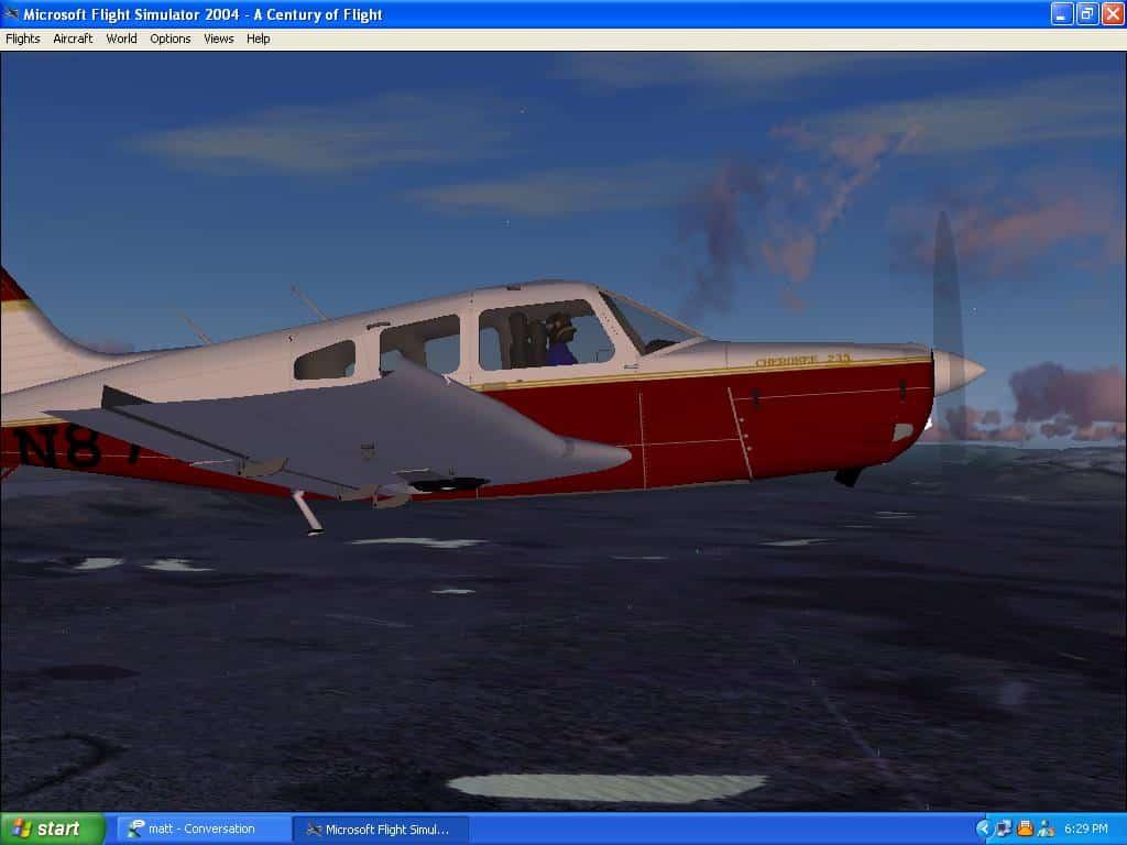 FS2004/2002 1966 PA-28 Piper Cherokee 235 - Flight Simulator Addon / Mod
