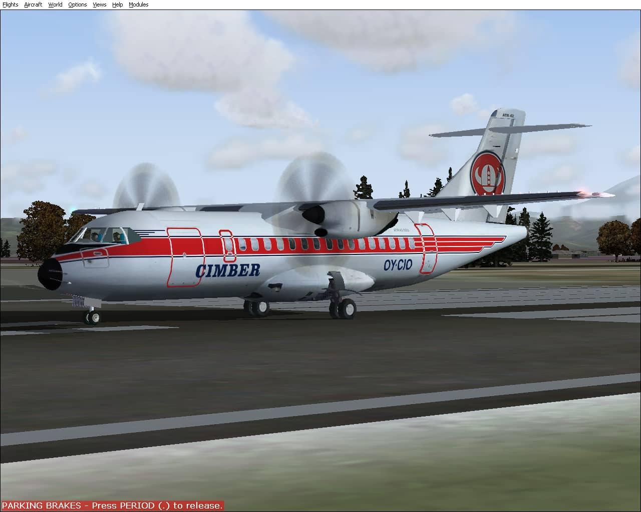 FS 2004/2002 ATR 42-500 Denmark Package