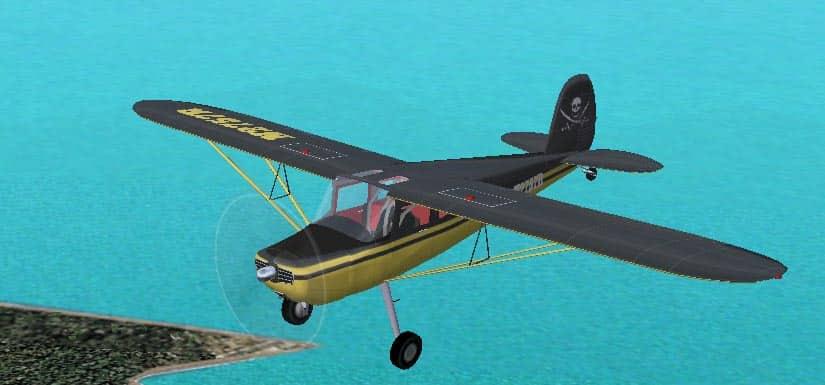 FS2002/2004 Cessna 182 Skylane Pirate Textures - Flight
