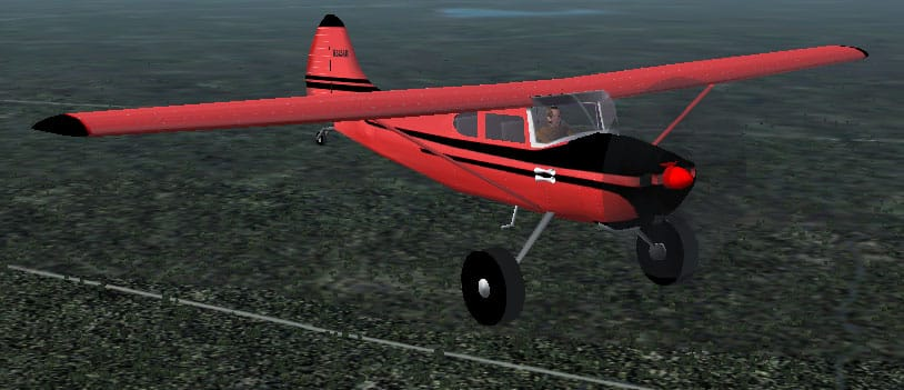 FS2002/2004 Cessna 170 Bush Plane textures - Flight