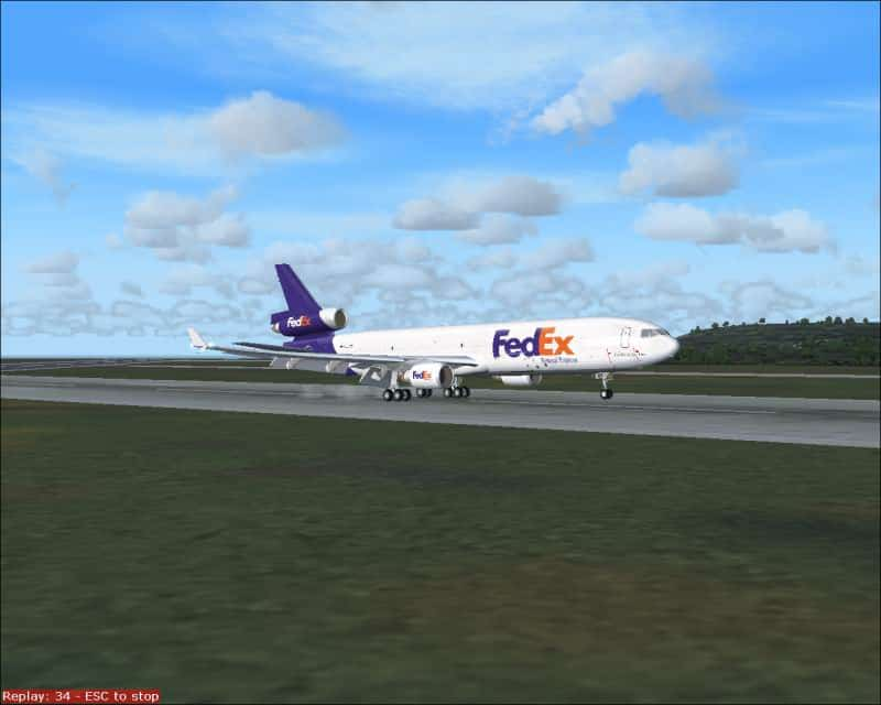 FS2004 MD11 panel - Flight Simulator Addon / Mod