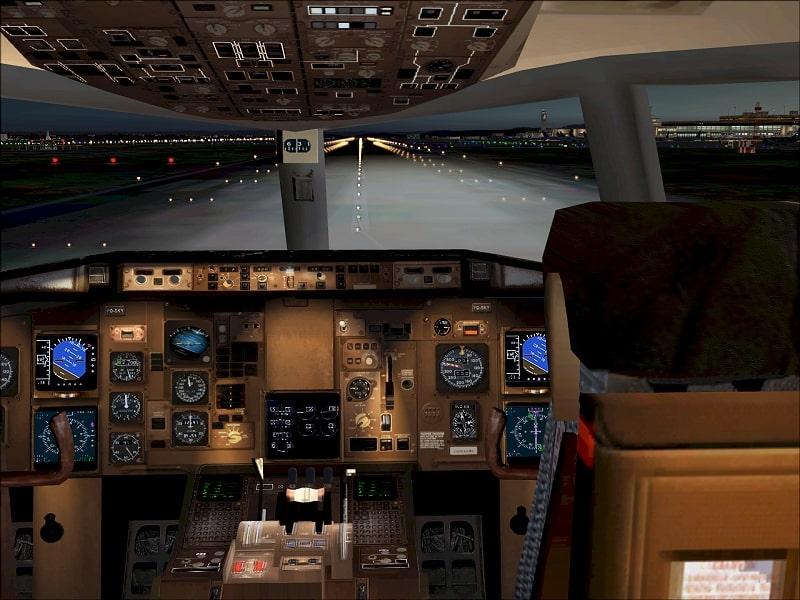 fs2004 posky boeing 757 photoreal virtual cockpit textures. Black Bedroom Furniture Sets. Home Design Ideas