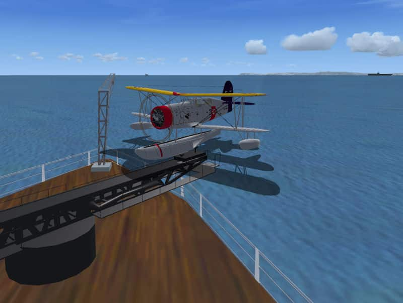 FSX Acceleration USS Idaho Scenery Object - Flight Simulator