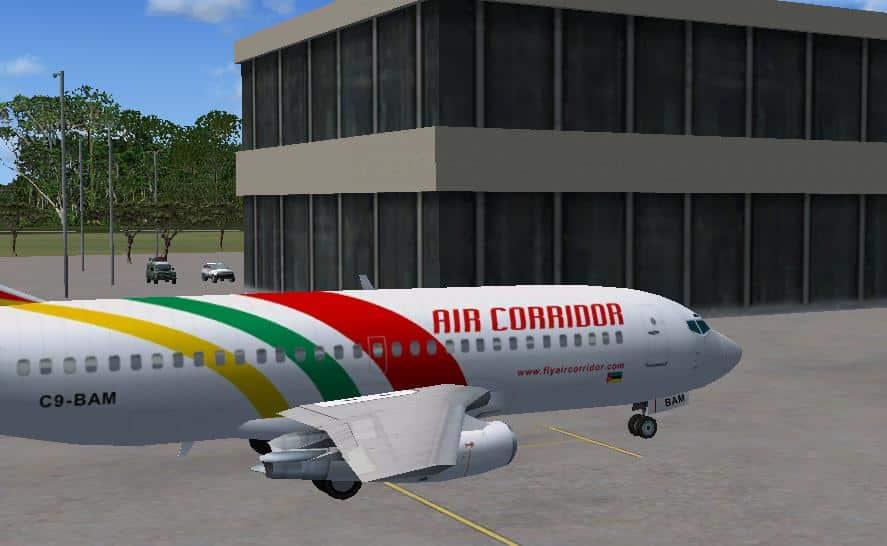 FSX Beira International Airport, Mozambique, FQBR - Flight