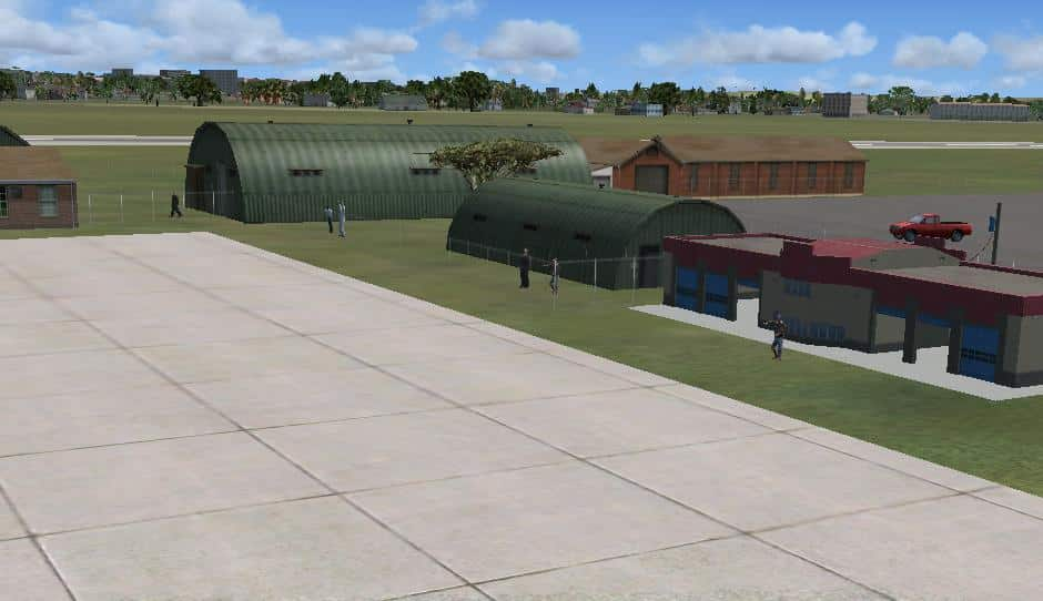 FSX, Ndola International Airport, Zambia - Flight Simulator