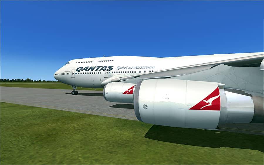 PMDG Boeing 747-400 Qantas Airways -