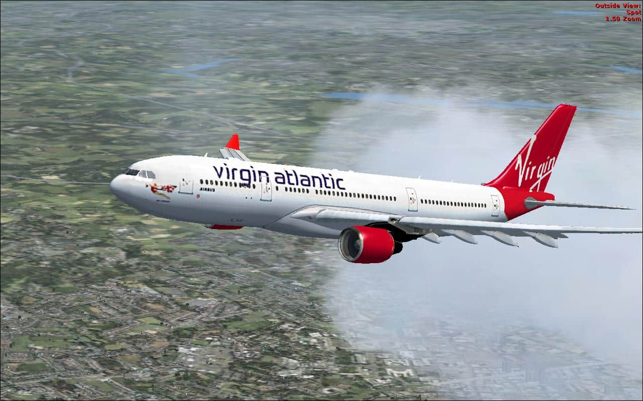 Airbus A330-200 Virgin Atlantic Textures - Flight Simulator
