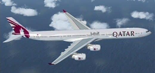 Airbus A340-600 Qatar Airways Textures - Flight Simulator
