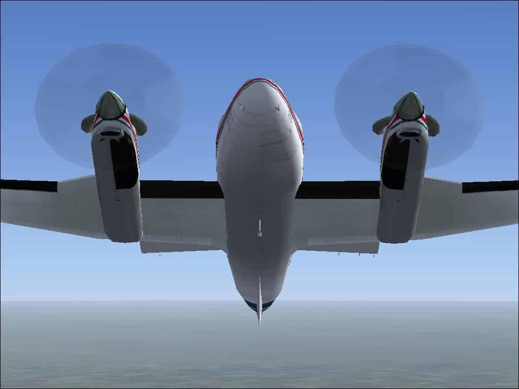 King Air FSX Propeller Texture - Microsoft Flight Simulator X Mod