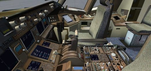 FSX Alpha Jet 'Pirate' - Flight Simulator Addon / Mod