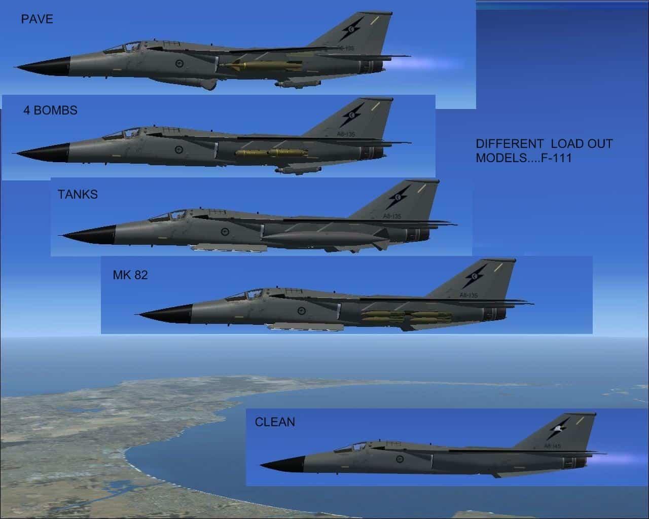 F-111 PIG HUD PROJECT - Flight Simulator Addon / Mod