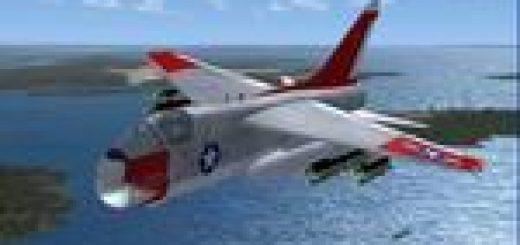 FS2004 DSB/Iris A-7 Corsair II Package - Flight Simulator