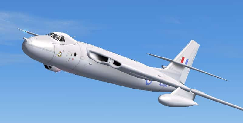 FS2004 RAF Vickers Valiant in XD818 Textures only - Flight