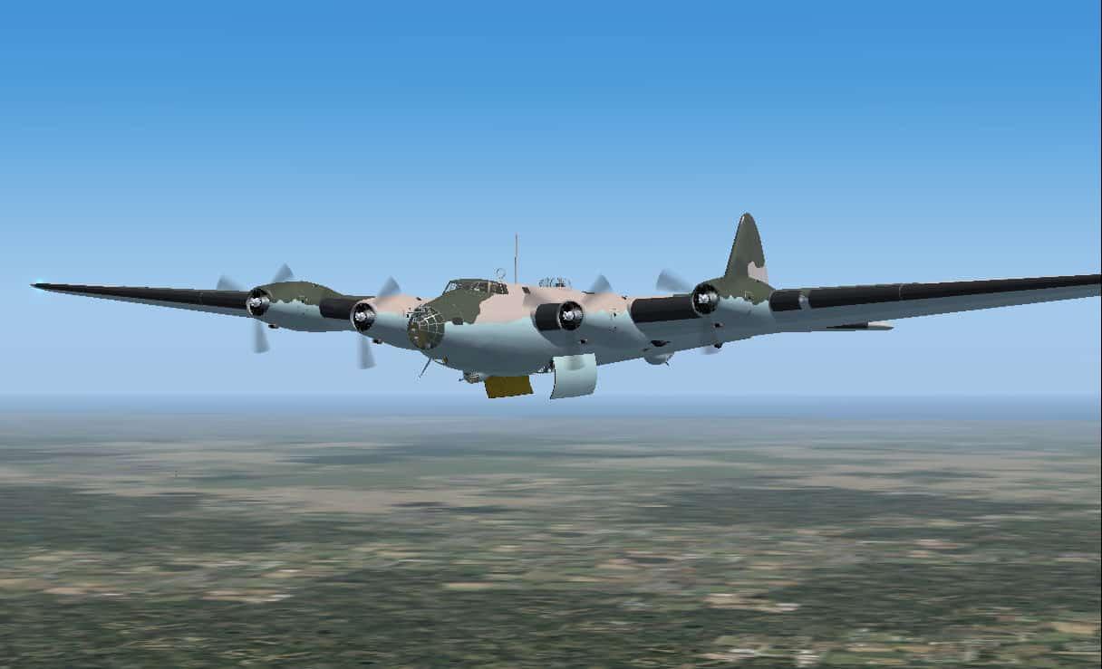 FS2004/FSX Boeing XB-15 Experimental Long-Range Bomber