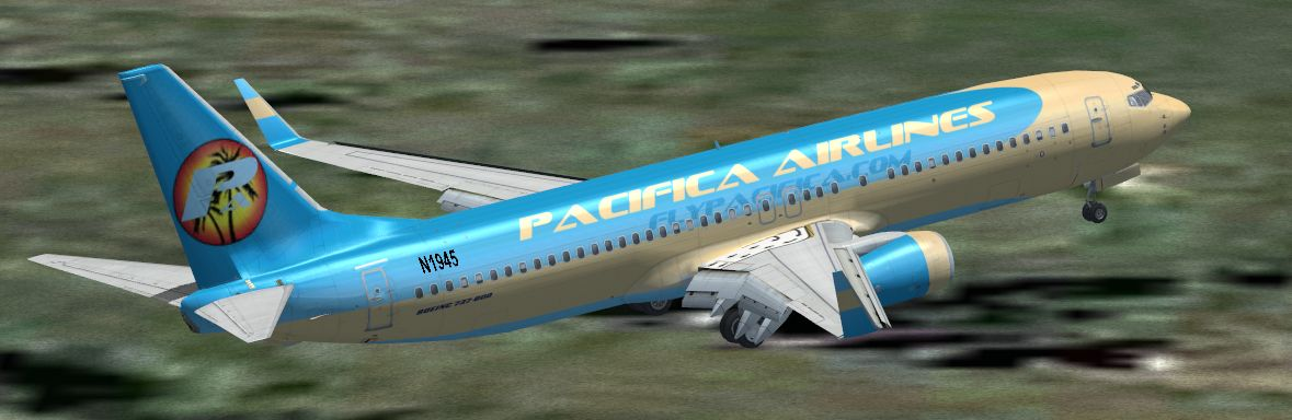 FSX Boeing 737-800 Default Airlines Livery Makeover Set 1