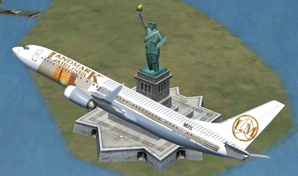 FSX Boeing 737-800 Default Airlines Livery Makeover Set 2