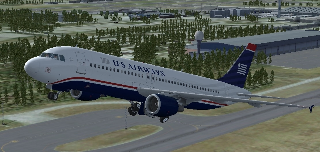 FSX Project Airbus A320 Package with 12 liveries - Flight Simulator