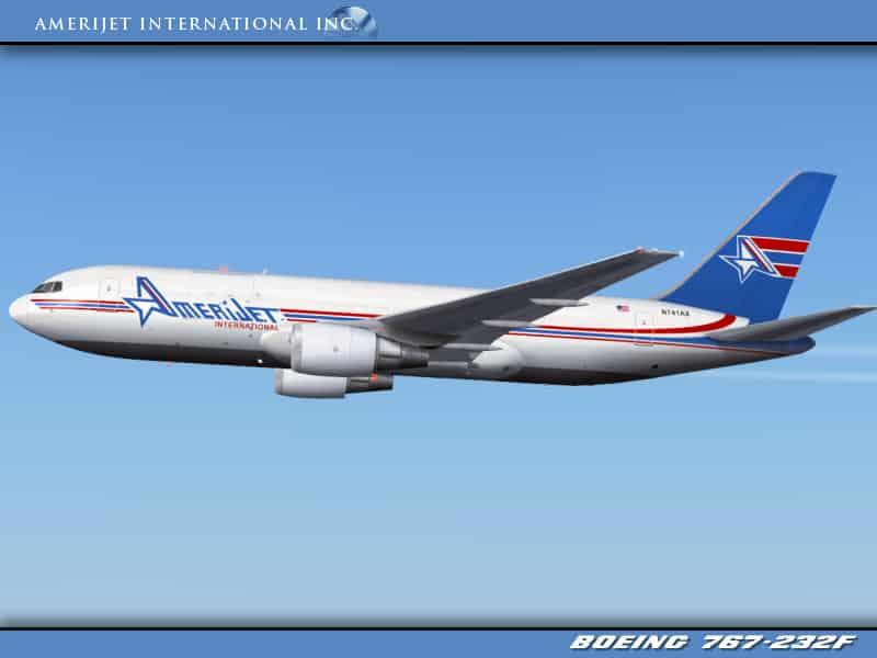 AmeriJet Boeing 767-232/BDSF (N741AX) - Flight Simulator Addon / Mod