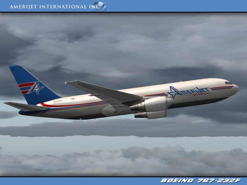 AmeriJet Boeing 767-232/BDSF (N741AX) - Flight Simulator