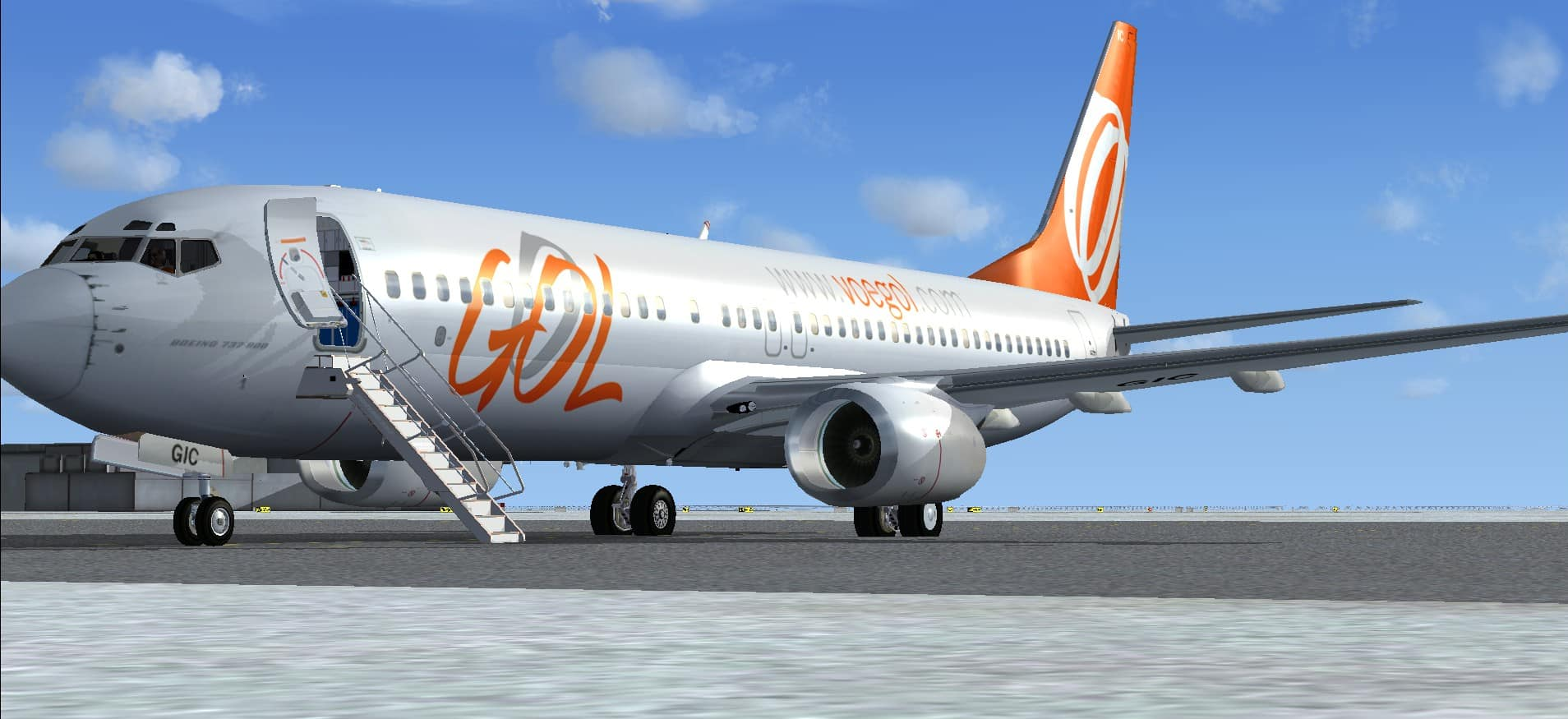 Boeing 737 800 Gol Package Microsoft Flight Simulator X Mod