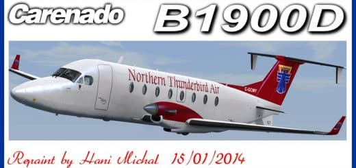 FSX-Virtualcol ATR 72-500 Wings Air Textures - Flight