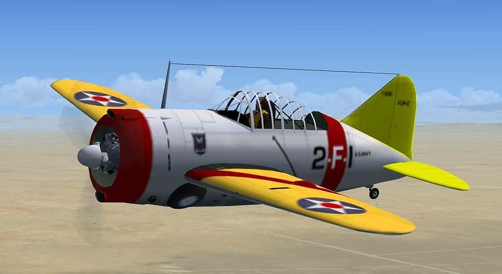 FSX Brewster Buffalo Updated Package - Flight Simulator
