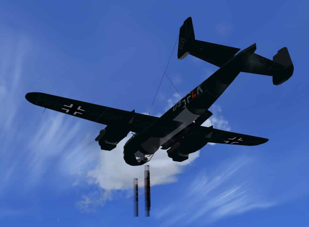 FSX Dornier Do-217M Bomber - Flight Simulator Addon / Mod