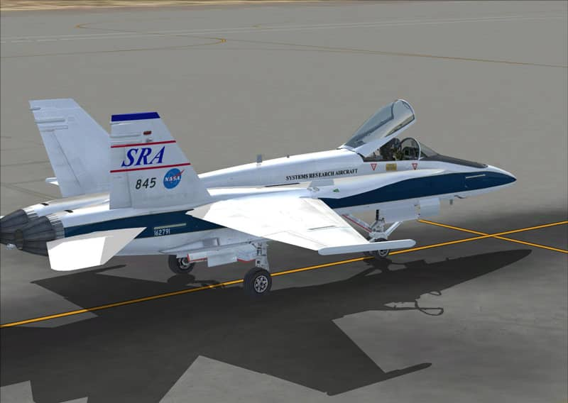 FSX NASA F18's Textures - Flight Simulator Addon / Mod
