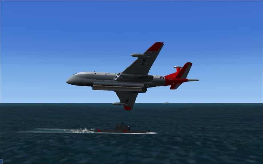 FSX Soviet AI Submarine Pack II - Flight Simulator Addon / Mod