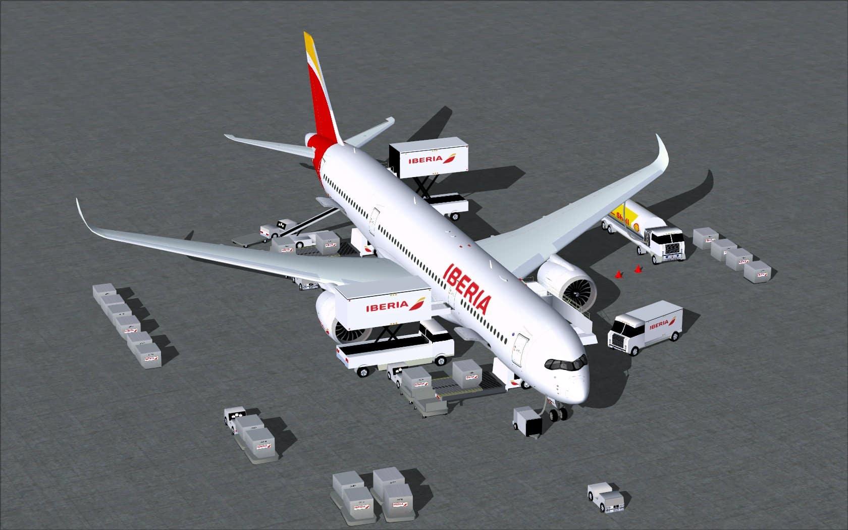 Design Your Own Micro Home Iberia Airbus A350 900 Flight Simulator Addon Mod