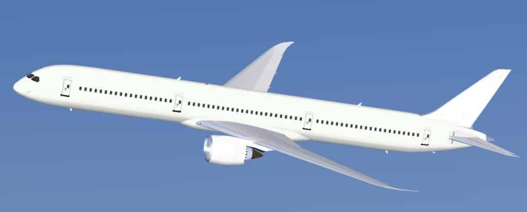 FS2004 Boeing 787-10 Paint Kit - Flight Simulator Addon / Mod