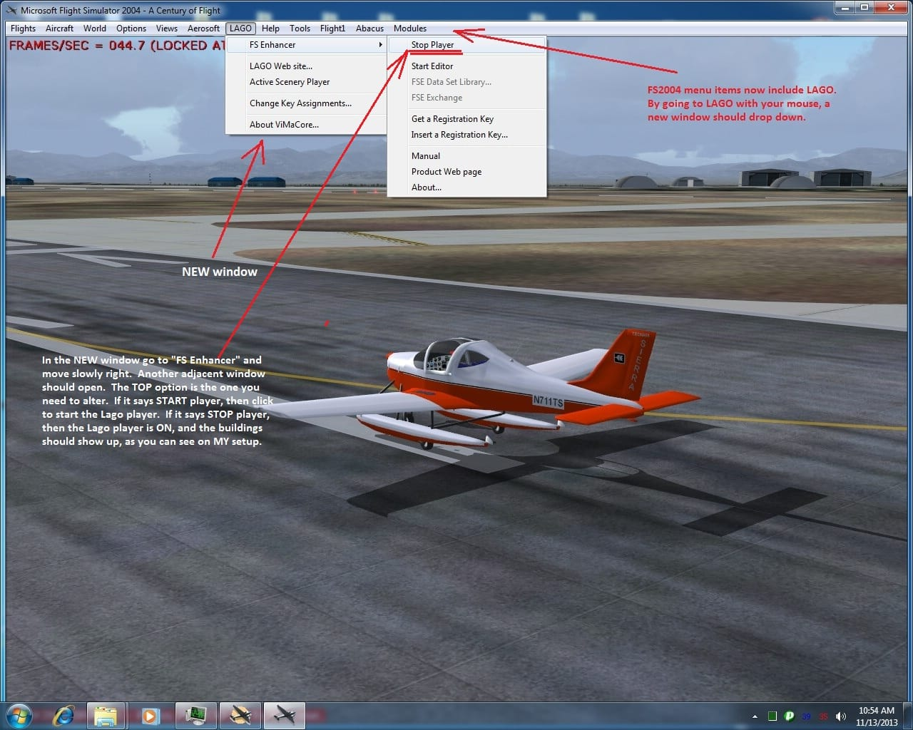 Lago FSE (Flight Scenery Enhancer) - Flight Simulator Addon
