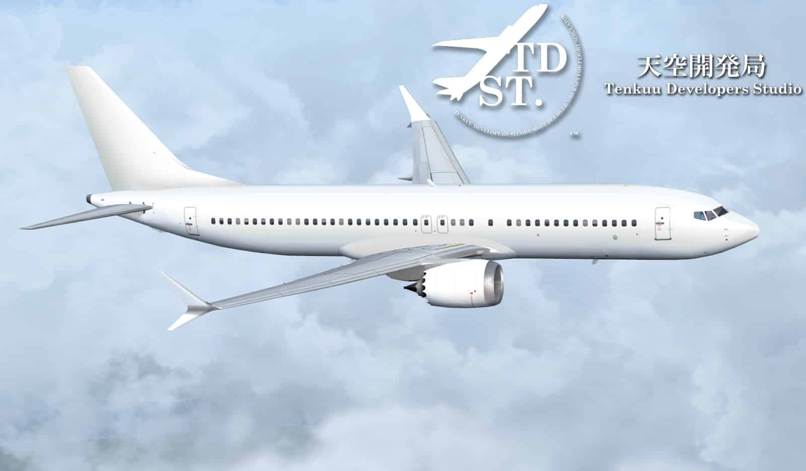 TDS Boeing 737 MAX Series Paintkit - Flight Simulator Addon / Mod