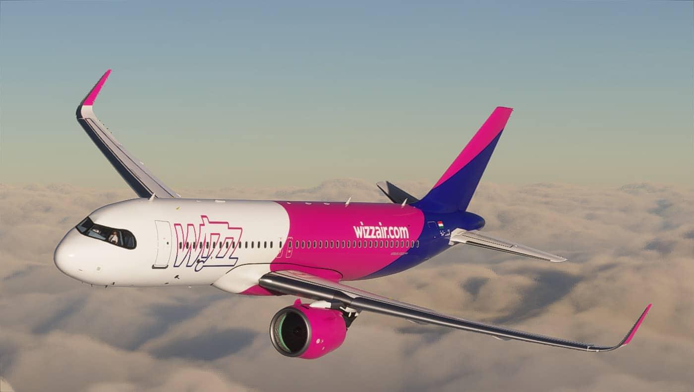 A320neo Wizz Air Ha Lja 8k V1 0 Microsoft Flight Simulator 2020 Mod