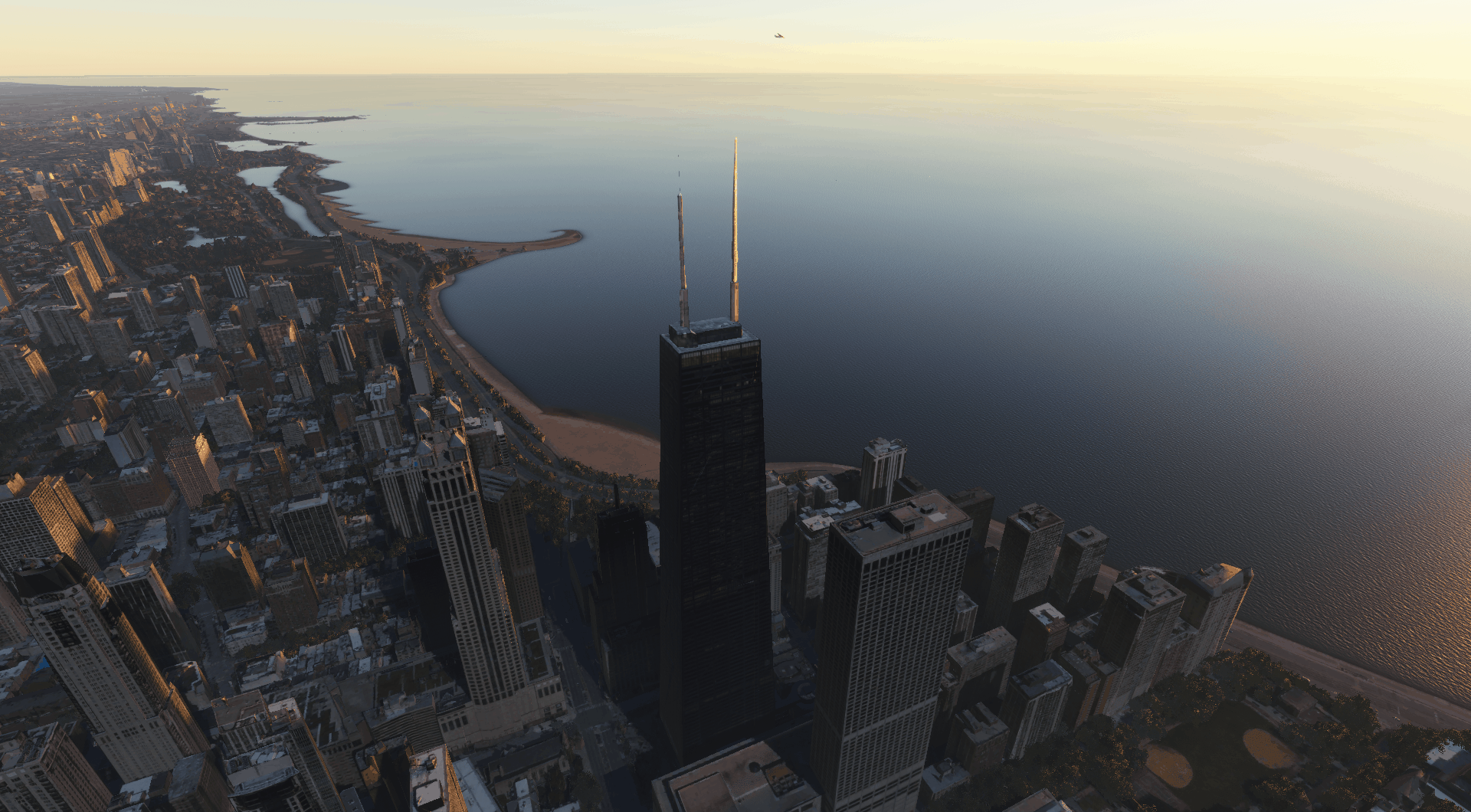 Chicago Enhanced Scenery - Microsoft Flight Simulator 2020 Mod