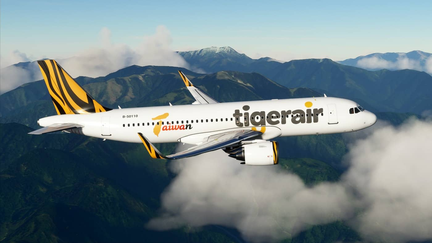 Tigerair Taiwan A320neo v1.0 - Microsoft Flight Simulator ...