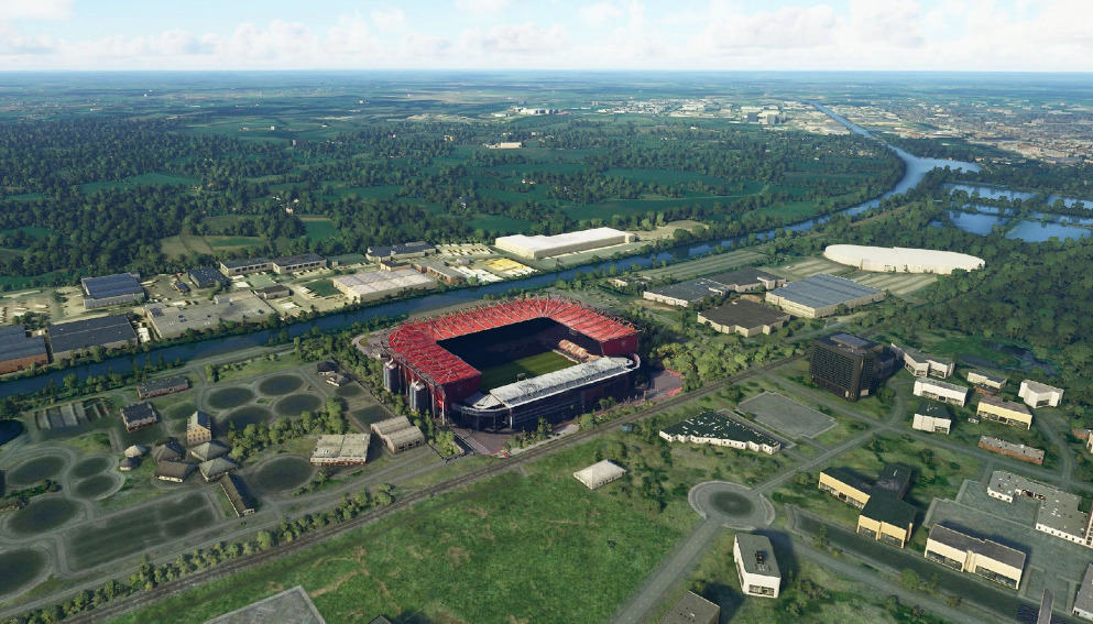 Enschede De Grolsche Veste Stadium And Home Of Fc Twente V1 0 Msfs2020 Scenery Mod